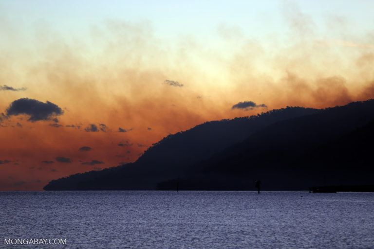 Fires in Far North Queensland, Australia. Photo by Rhett A. Butler.
