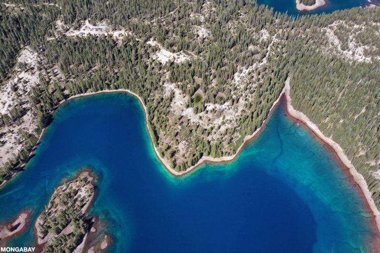 Lake in the California Sierra Nevada mountains near Donor Pass. Photo by Rhett A. Butler.