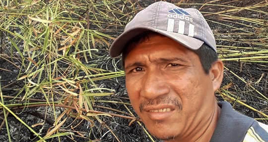 Zezico Rodrigues Guajarara, a teacher from the Arariboia indigenous reserve in Maranhão state, was found shot dead on March 31. He is the fifth Guajarara leader to be killed since November 2019. Image reproduced from his Facebook profile.