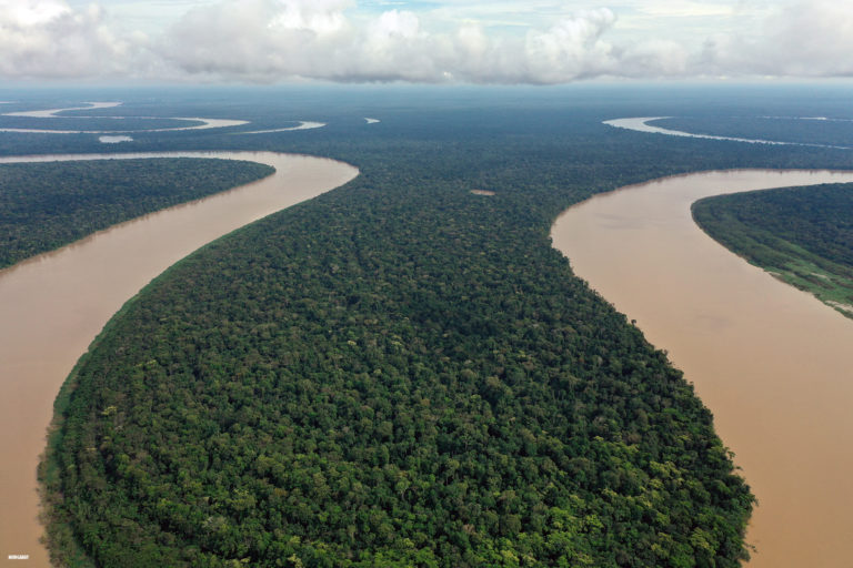 The Javari River in the Brazilian Amazon. Photo by Rhett A. Butler for Mongabay.