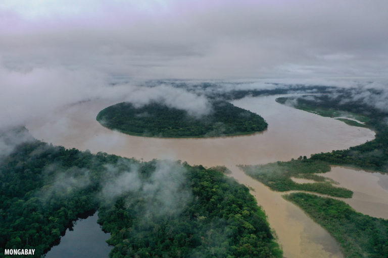 The Javari river forms the border between Brazil and Peru. Photo by Rhett A. Butler for Mongabay.