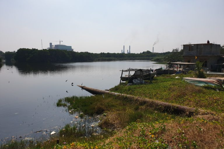 After vehicle emissions, electricity generation and industrial activity are the main sources of air pollution in Sri Lanka. Image by Dennis Mombauer/SLYCAN Trust.