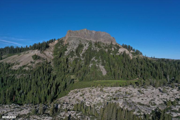 Devil's Peak in the California Sierra Nevada.