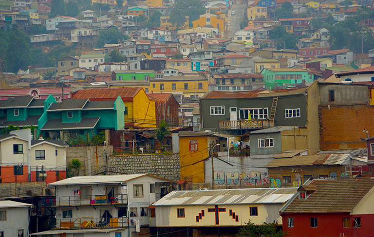 Valparaiso, Chile. Photo by E. Ortiz