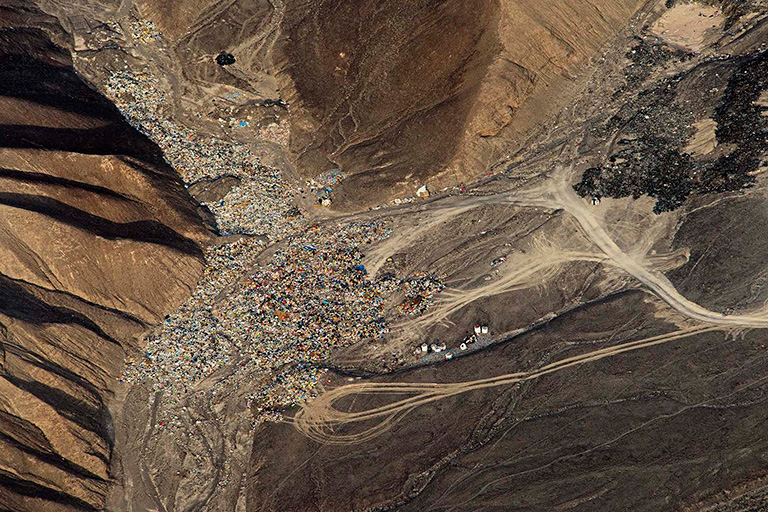 City growth in the Andes, Peru. Photo courtesy of Walter Wust.