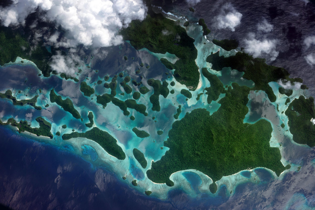 Wajag Island in West Papua. Image credit: Microsoft Zoom Earth