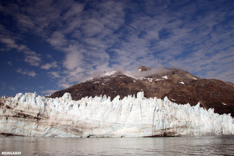Margerie Glacier in Glacier Bay National Park and Preserve, Alaska. Photo by Rhett A. Butler