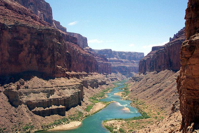 The Colorado River as it runs through the Grand Canyon. Photo by Rhett A. Butler.
