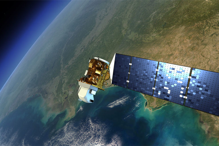 Illustration of Landsat satellite Credits: NASA's Goddard Space Flight Cente