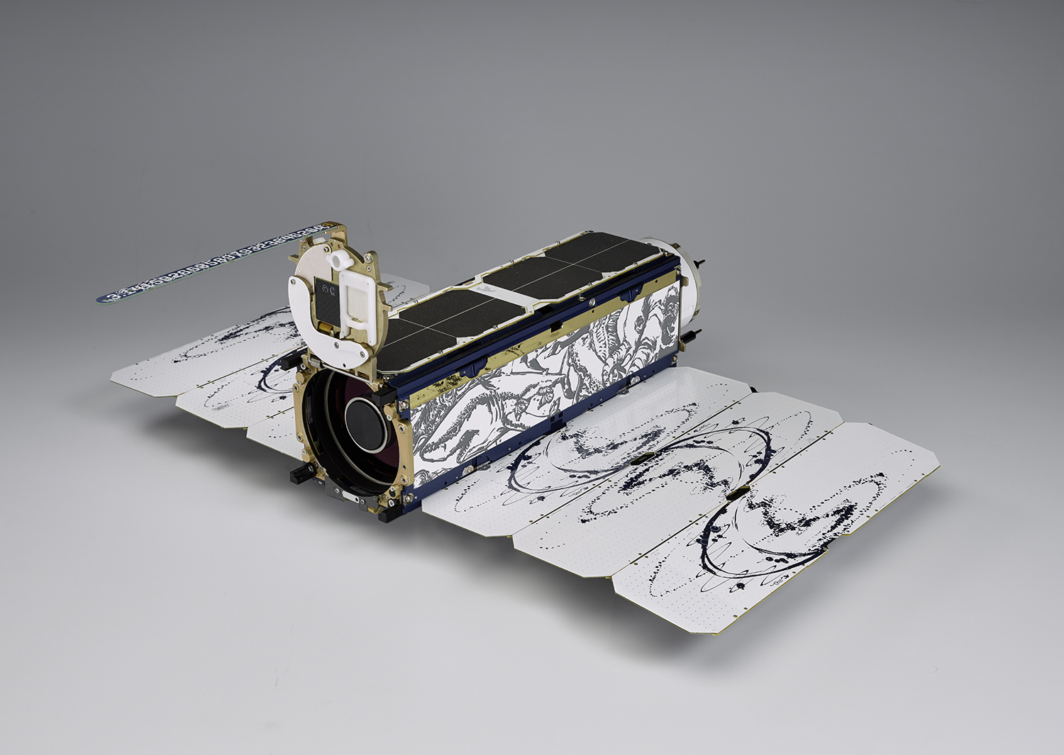 The Dove spacecraft that enables the PlanetScope dataset. Image courtesy of Planet.
