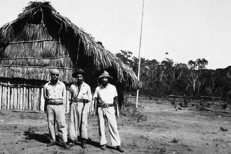 The Villas Boas brothers in 1947 after their first great expedition.