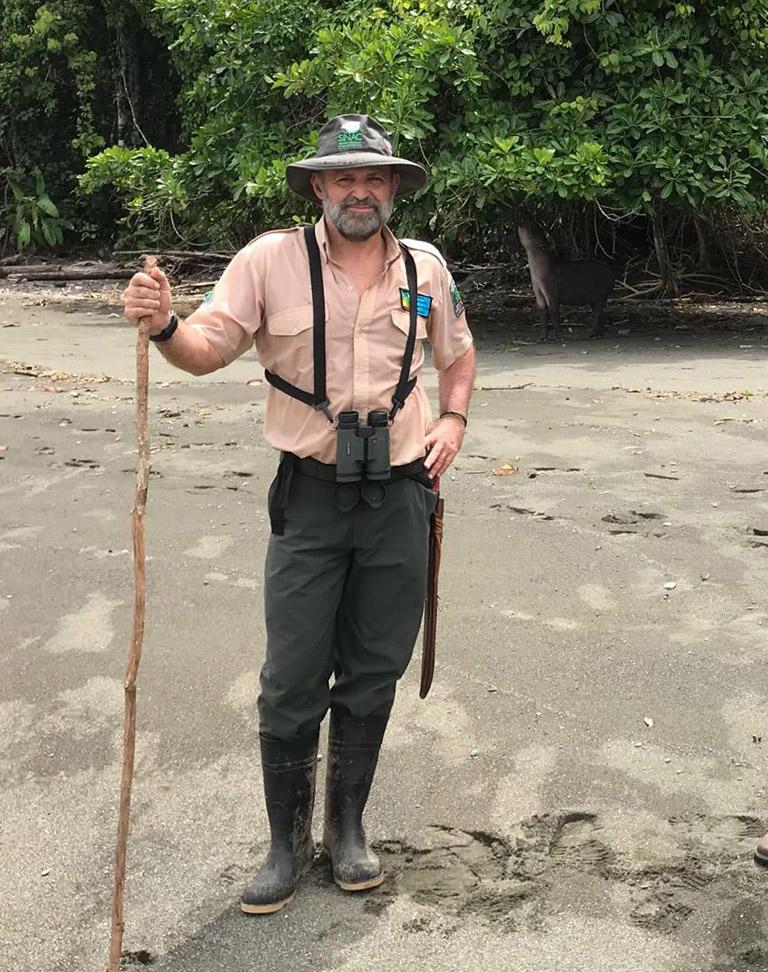 Carlos Manuel Rodriguez in Costa Rica. Courtesy of Carlos Manuel Rodriguez.