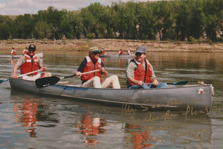 Scouting the Missouri Breaks for a National Monument, 1999