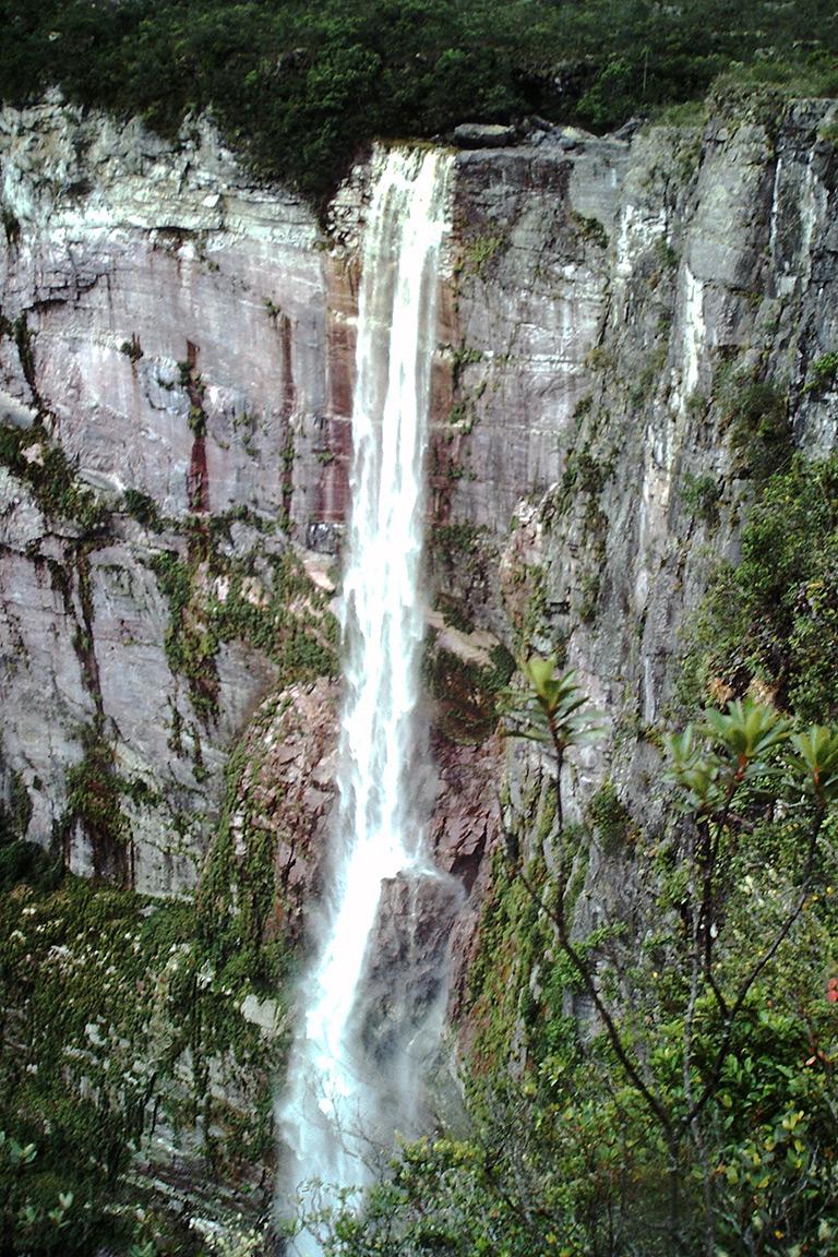 El Dorado Falls. © Sir Ghillean Prance