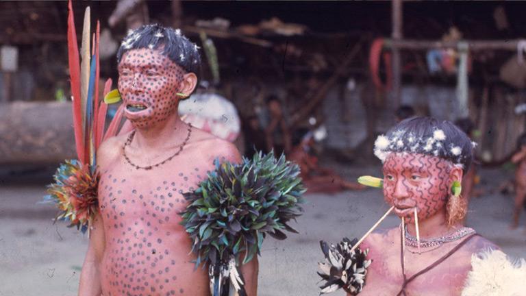 Yanomami couple. © Sir Ghillean Prance