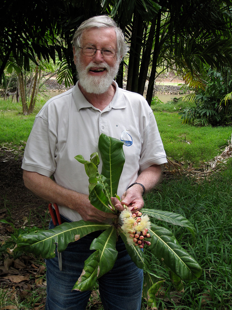 Sir Ghillean Prance in 2010.