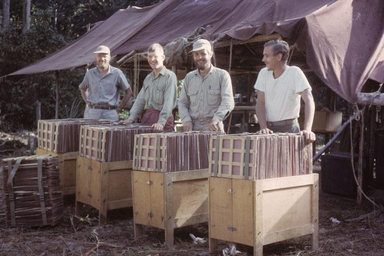Sir Ghillean Prance in Suriname in 1963.