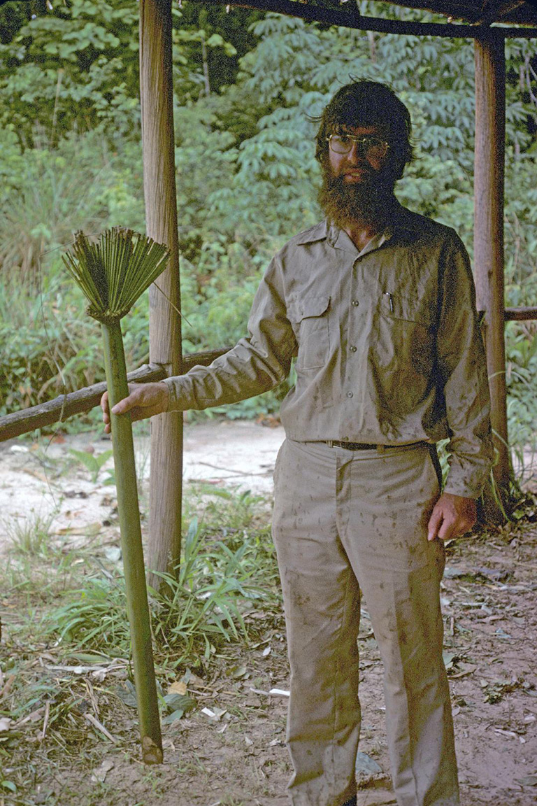 Sir Ghillean Prance in the Amazon.