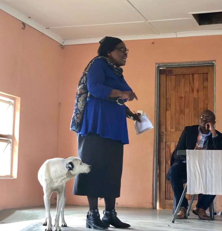 Four gunmen shot and killed anti-mining activist Fikile Ntshangase in her home on Oct. 22.