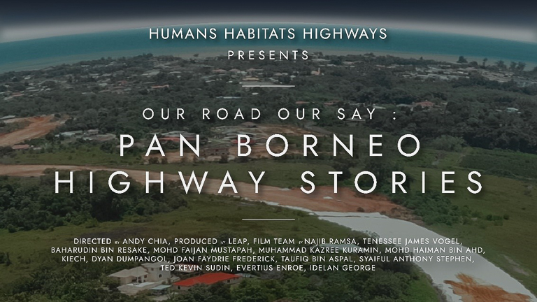 A poster for the film Our Road Our Say. Image courtesy of LEAP/Coalition 3H.