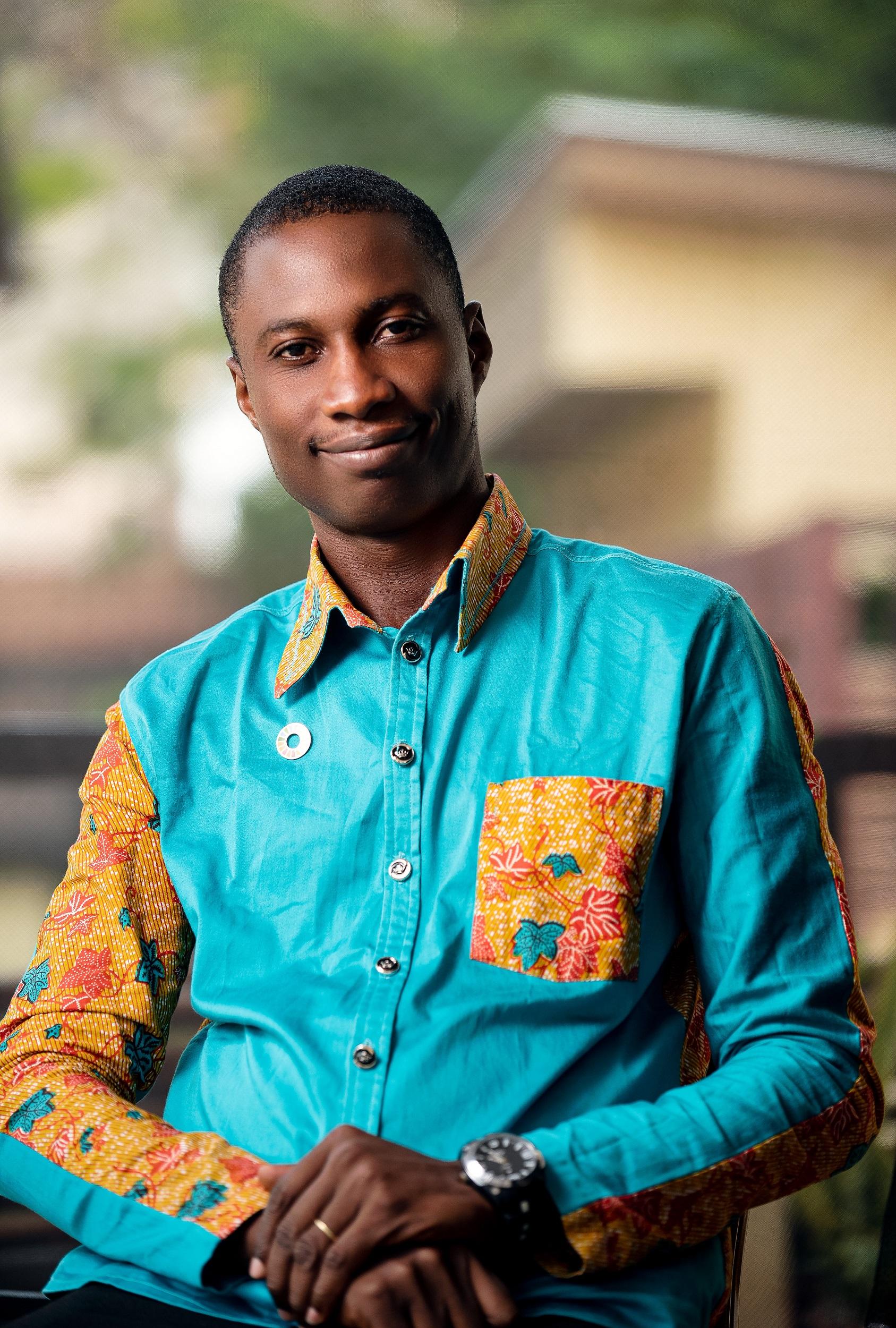 Chibeze Ezekiel, the 2020 Goldman Environmental Prize winner for Africa. Image courtesy of Goldman Environmental Prize.