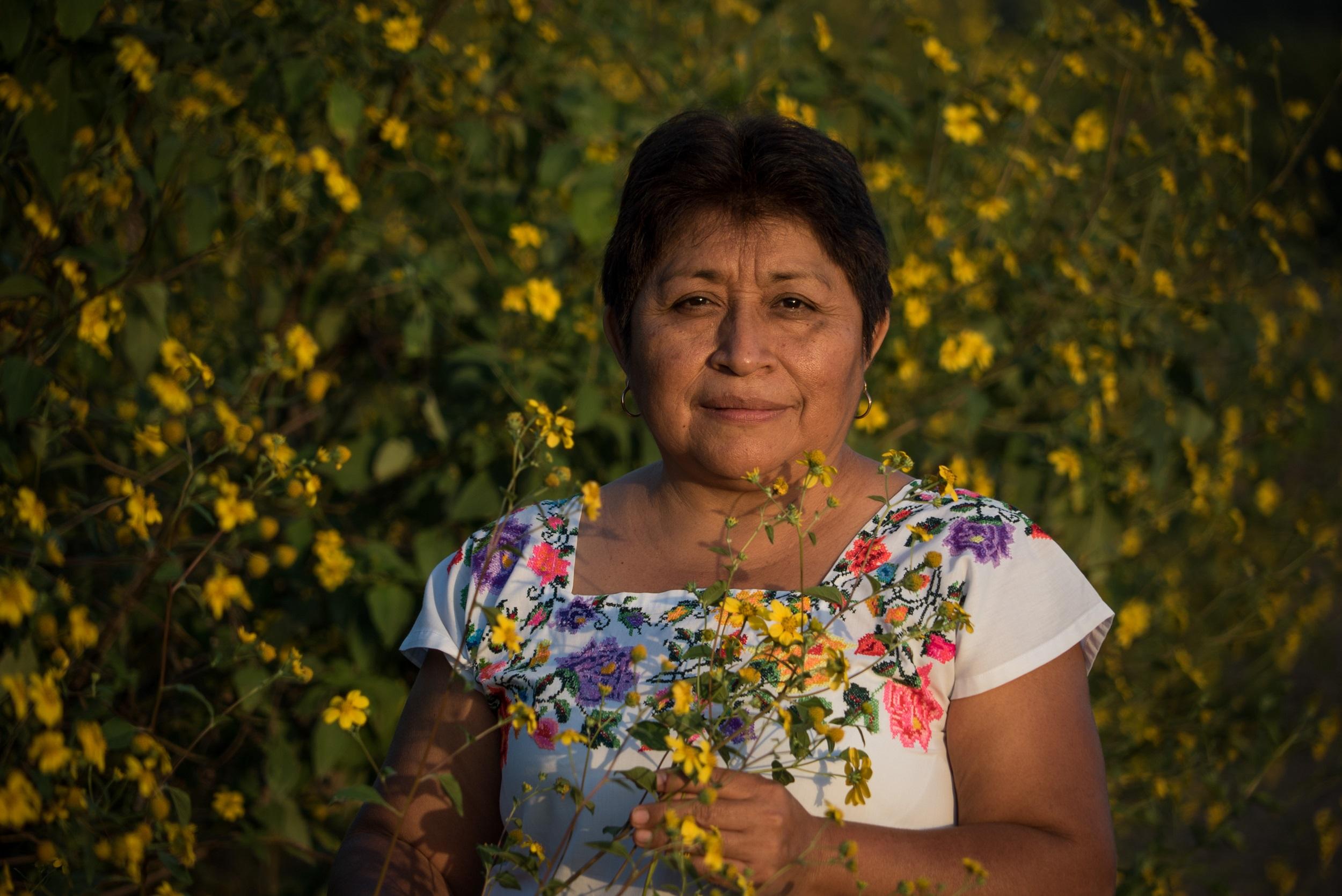 Leydy Pech, the 2020 Goldman Environmental Prize winner for North America. Image courtesy of Goldman Environmental Prize.