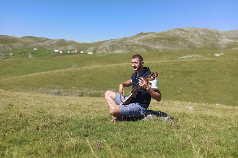 Milan Sekulović on Sinjajevina Mountain. Image courtesy of Milan Sekulović.