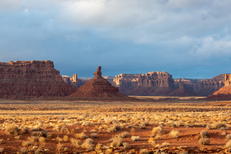 The Valley of the Gods, formerly part of Bears Ears National Monument, in San Juan County, Utah. Photo © Matthew Dillon