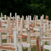 Mass grave in Parque Taruma cemetery in Manuas, Brazil in 2020. Photo credit: AFP