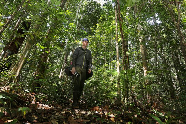 Rhett Butler in Sarawak, Malaysian Borneo in 2015.