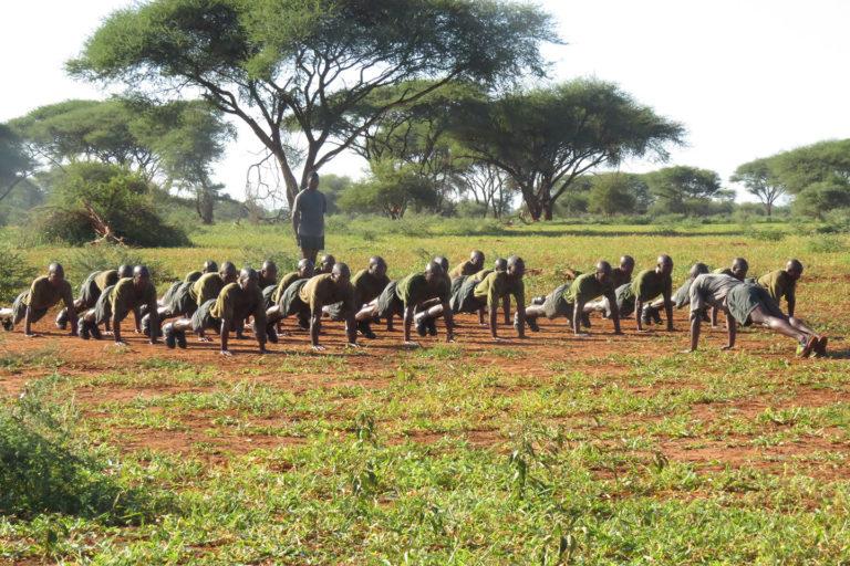 Rangers in training. Photo credit: Rodger Schlickeisen.