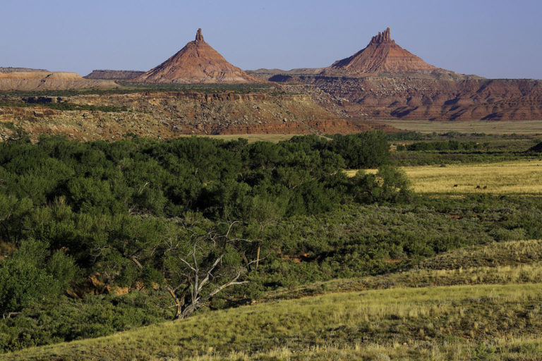 The Sixshooter Peaks in Bears Ears National Monument. Photo credit: U.S. Bureau of Land Management