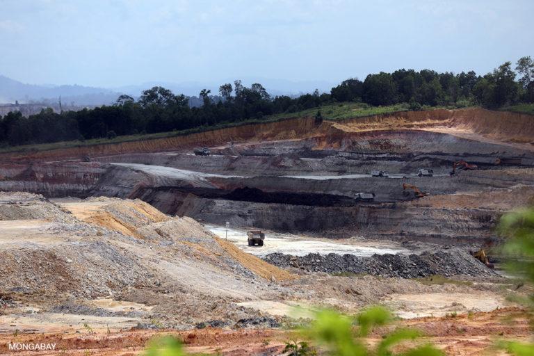 Coal mine in Indonesia. Photo credit: Rhett A. Butler
