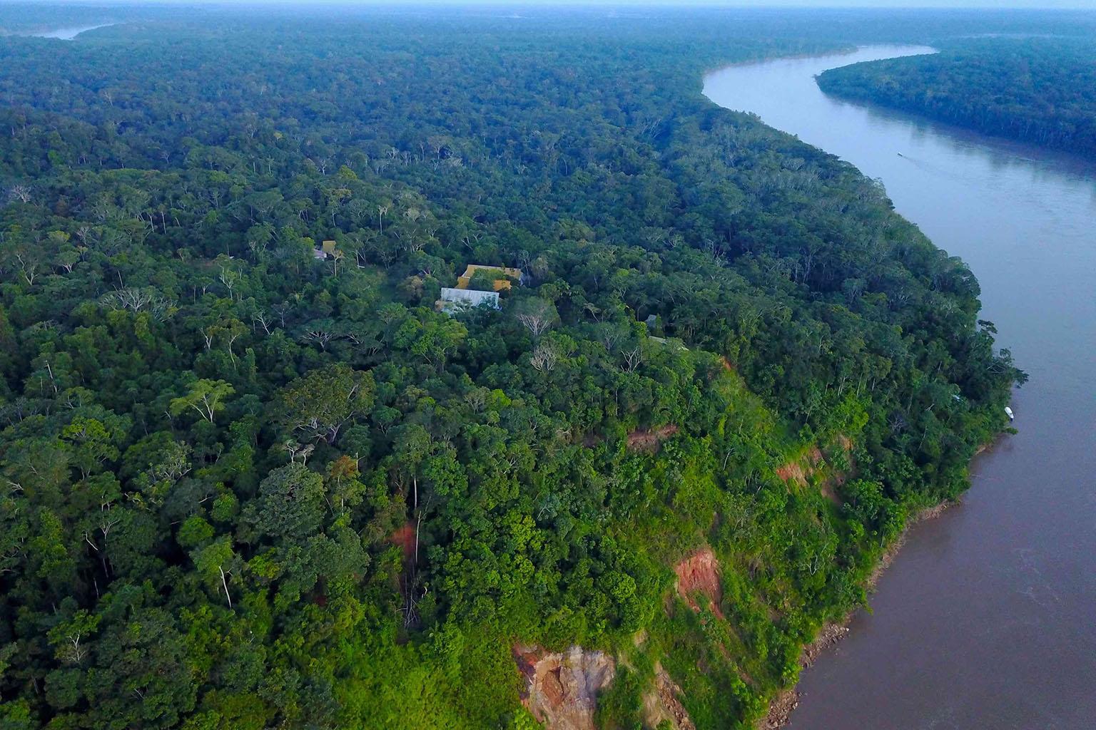 Amazon Conservation Association's Los Amigos biological station. Courtesy of ACA.