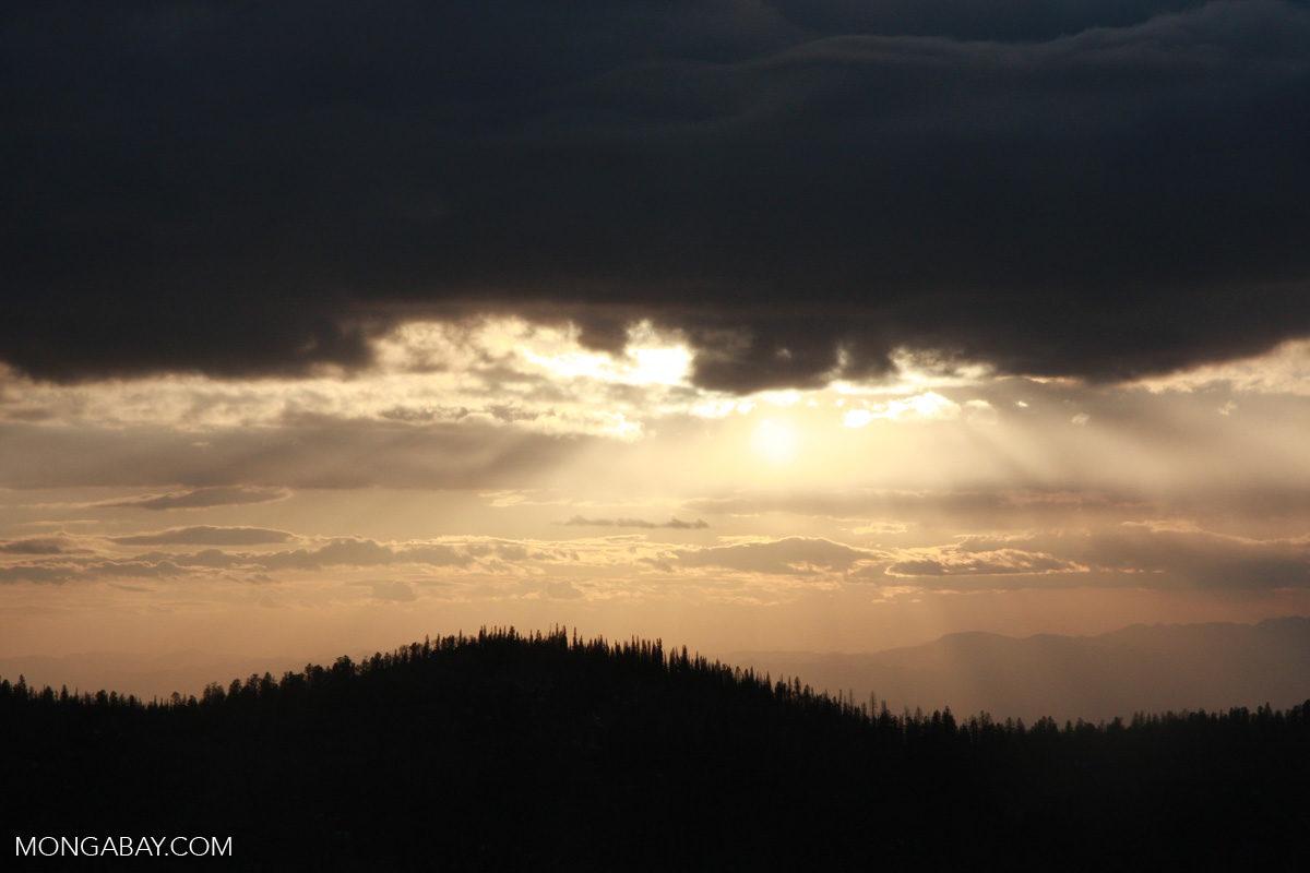 Sunset near Brian Head, Utah. Photo credit: Rhett A. Butler