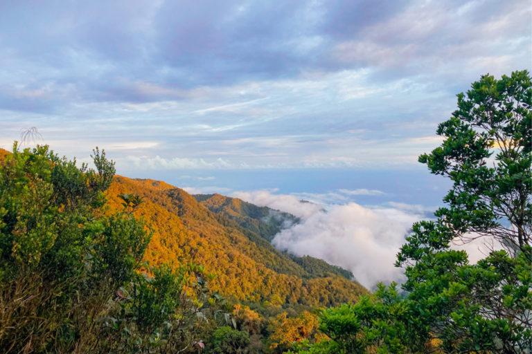 Golden hour in Mindanao, Philippines.