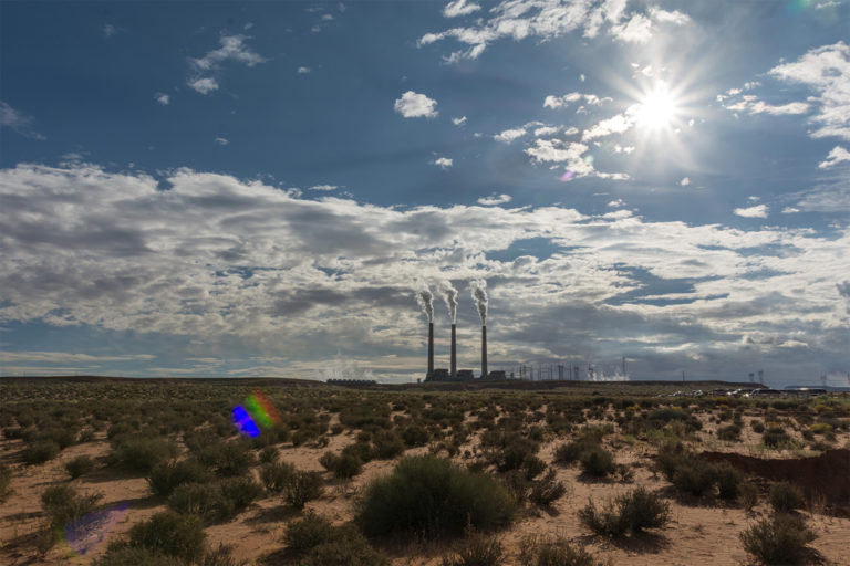 The Salt River Project-Navajo Generating Station. The Salt River Project and Great Society-era Central Arizona Project draw water from the Salt and Colorado rivers, which in turn are sourced from the northern Arizona snowpack.