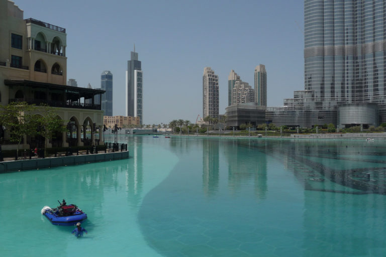 Cities like Dubai, Sharjah and Muscat, which get just a couple of inches of rain per year, are seen as places with plenty of water due to their desalinization capacity, but that freshwater comes at a high price and with severe salt pollution.