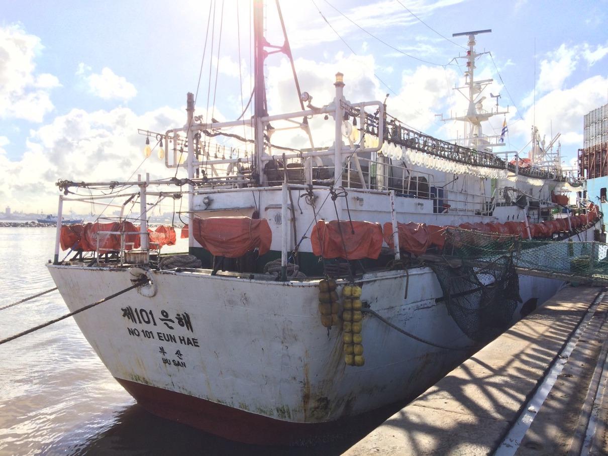 illegal ship