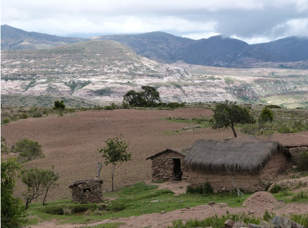 Small farm typical of those seen in El Palmar. Image by Claire Wordley.