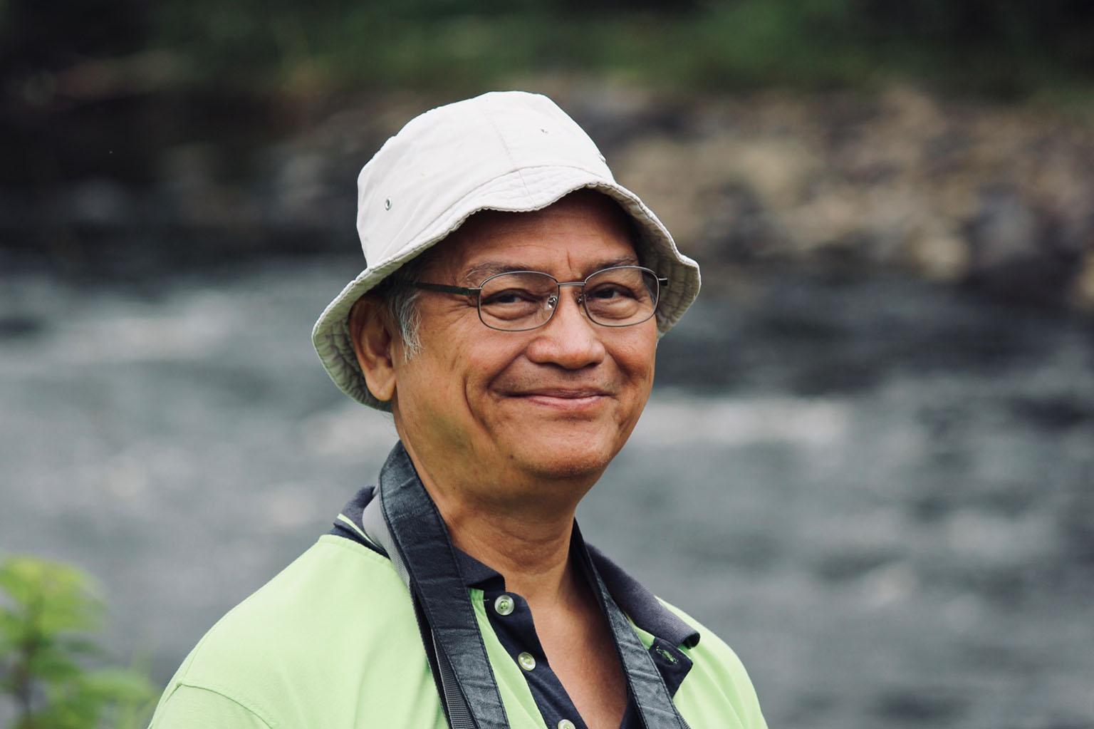 Peter Kallang in Ulu Baram. Photo credit: SAVE Rivers.