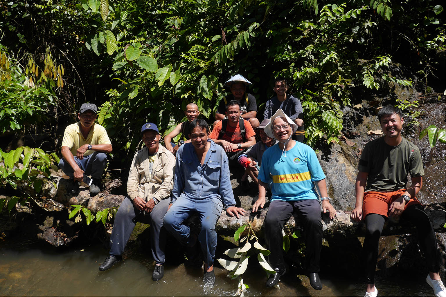 Inspecting a micro hydro power installation in Baram. Photo credit: SAVE Rivers.