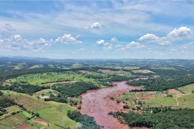 A torrent of mining waste killed nearly 300 people when a tailings dam at Vale's mine in Brumadinho collapsed in 2019.