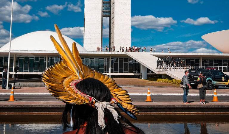 Illegal miners block Indigenous leaders headed to protests in Brazil's capital