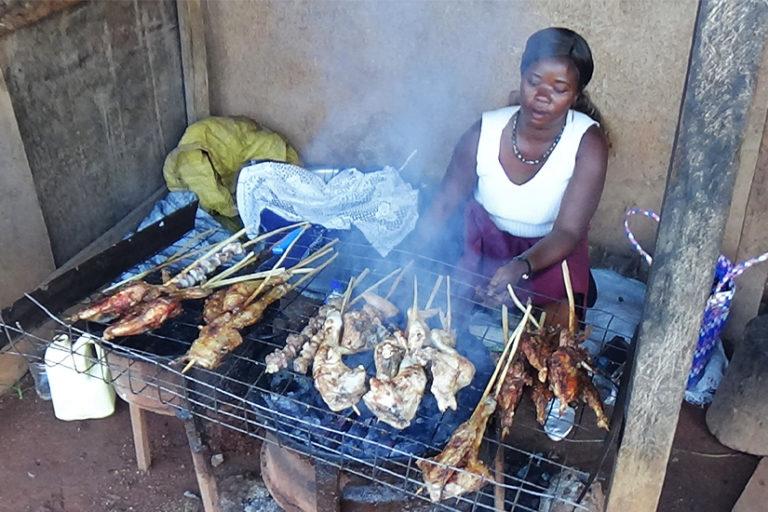 Rush to turn 'black diamonds' into cash eats up Uganda's forests, fruits