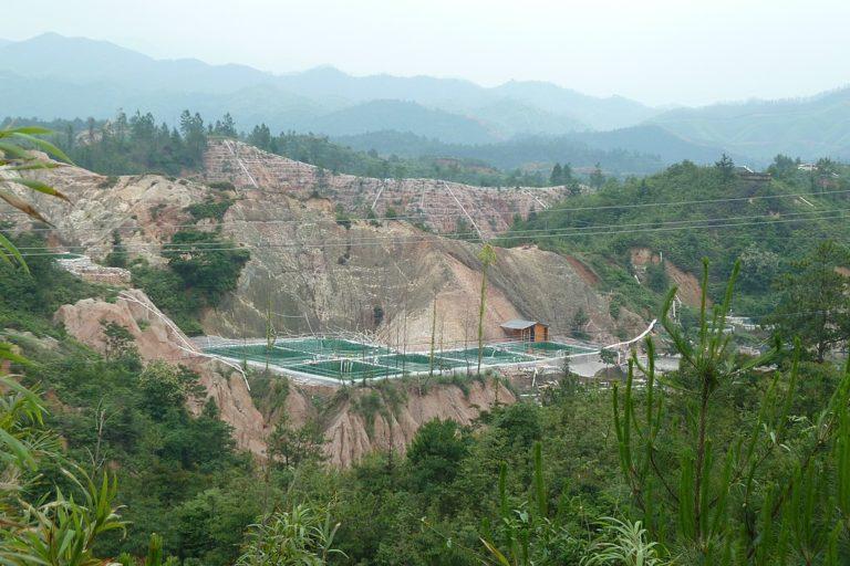 Extraction de terres rares