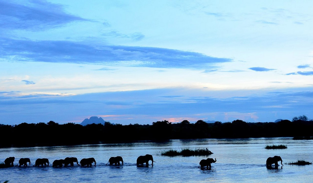 Lugenda River in Niassa Special Reserve. Photo credit: Colleen Begg