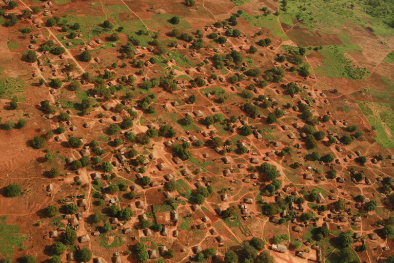 Village inside Niassa Special Reserve. Photo credit: Colleen Begg