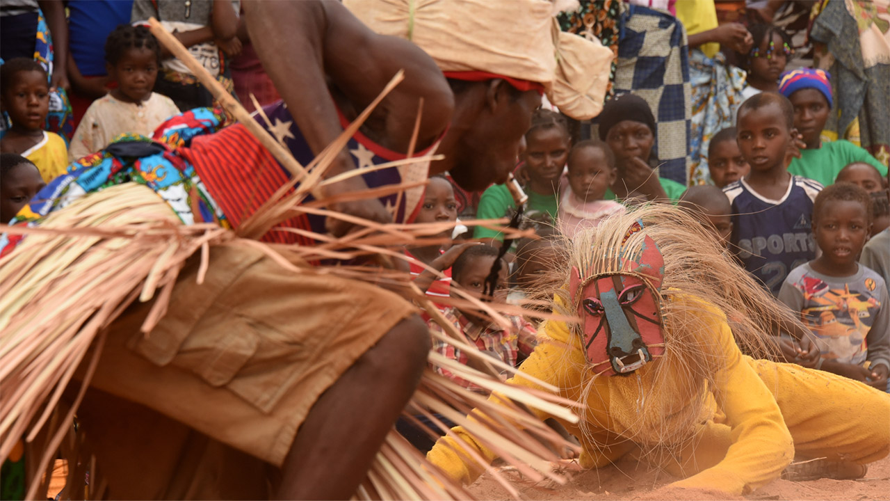 Lions have a strong cultural value in Niassa area villages. Photo credit: Colleen Begg.