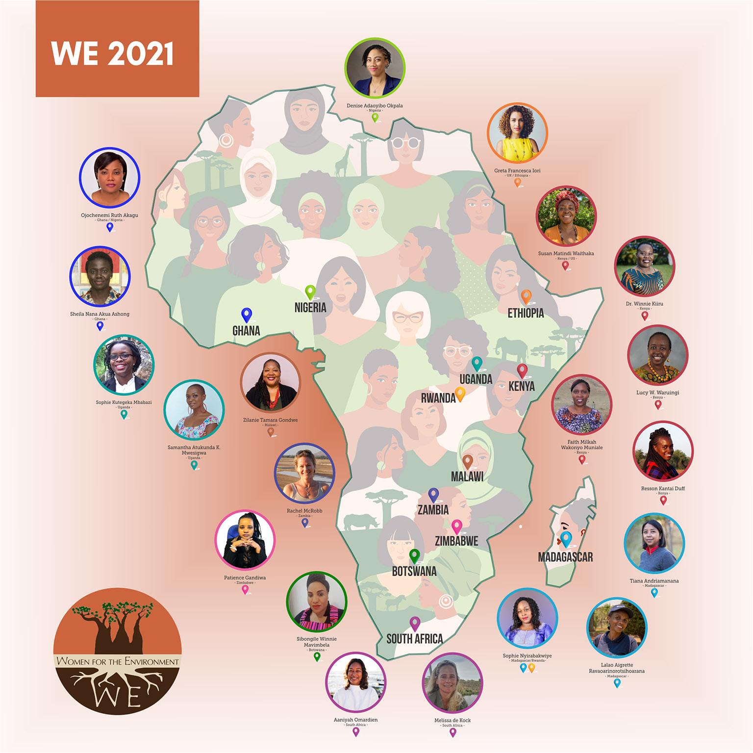 WE Africa 2021 Fellows